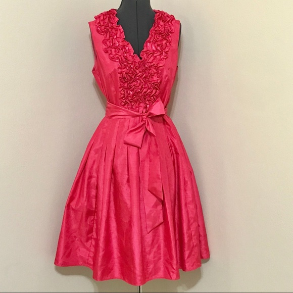 45ac0dbeccf1a Jessica Howard Dresses   Gorgeous Ruffle Pink Fit And Flare   Poshmark